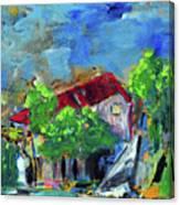 Seasidehouse Canvas Print