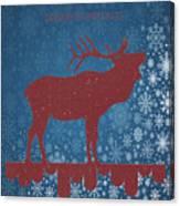 Seasonal Greetings Artwork Canvas Print