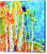 Seasonal Stream Of Consciousness Canvas Print