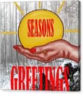 Seasons Greetings 31 Canvas Print