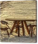 Seat Of A Farmer Canvas Print