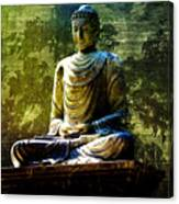 Seated Buddha Canvas Print