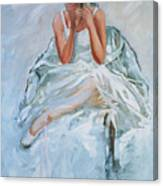 Seated Dancer Canvas Print