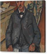 Seated Man  Canvas Print