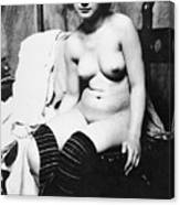 Seated Nude, C1910 Canvas Print