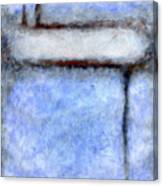 Seattle Afternoon Abstract Canvas Print