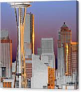 Seattle Architecture Canvas Print