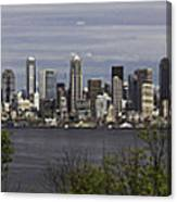 Seattle At Its Best Canvas Print