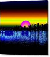 Seattle Dawning Canvas Print
