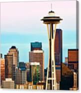 Seattle Daylight Canvas Print