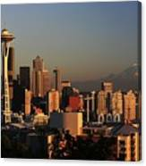 Seattle Equinox Canvas Print