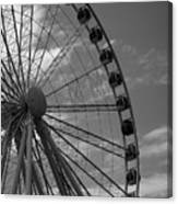 Seattle Great Wheel Canvas Print