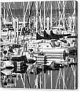 Seattle Marina Canvas Print