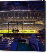 Seattle Mariners Safeco Field Night Game Canvas Print