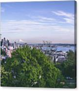 Seattle Panorama Canvas Print