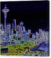 Seattle Quintessence Canvas Print