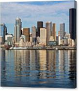 Seattle Reflection Canvas Print
