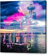 Seattle Rose Canvas Print