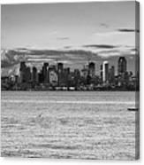 Seattle Skyline 3 Canvas Print