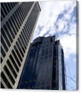 Seattle Skyscrapers Canvas Print