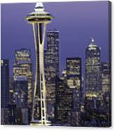 Seattle Space Needle 0200 Canvas Print