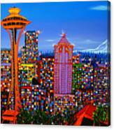 Seattle Space Needle 5 Canvas Print