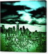 Seattle - The Emerald City Canvas Print
