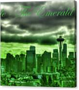 Seattle Washington - The Emerald City Canvas Print