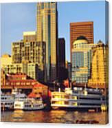 Seattle Waterfront Canvas Print