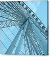 Seattle Wheel Canvas Print
