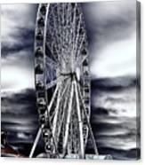 Seattle's Great Wheel Canvas Print