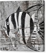 Seawall Art Canvas Print