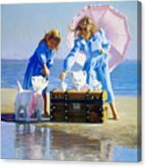 Seaweed Tea Canvas Print