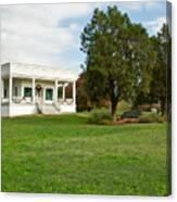 Sebastopol House Historic Site Canvas Print