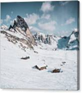 Seceda Dolomity, Italy  Canvas Print