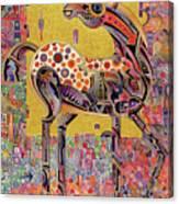 Secessionist Horse Canvas Print