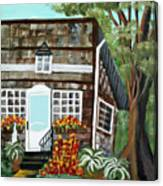 Secluded Home Canvas Print