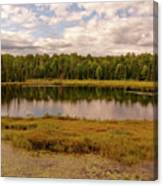 Secluded Lake Canvas Print