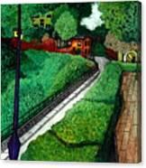 Secluded Nieigborhood Canvas Print