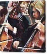 Second Cellos Canvas Print