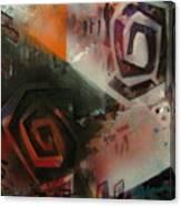 Second City Silhouette Canvas Print