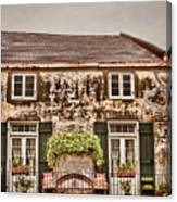 Second Story Cottage Canvas Print