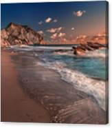 Secret Beach Greece Canvas Print
