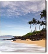 Secret Beach Maui Sunrise Canvas Print