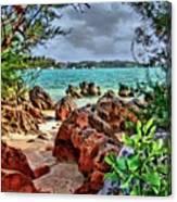 Secret Cove Canvas Print