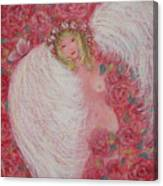 Secret Garden Angel 6 Canvas Print