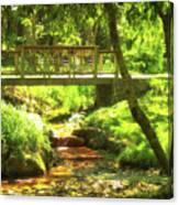 Secret Garden Bridge Canvas Print
