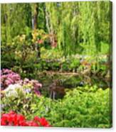 Secret Garden Pond Canvas Print