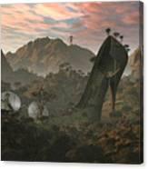 Secret Land Canvas Print