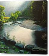 Secret Valley Canvas Print